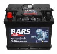 Аккумулятор Bars Silver 55 А EN 480A L+